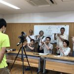 テレビ取材!~実践1組 篠笛ゆめクラブ~