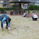 唐津校8期生による りふれ除草ボランティア活動